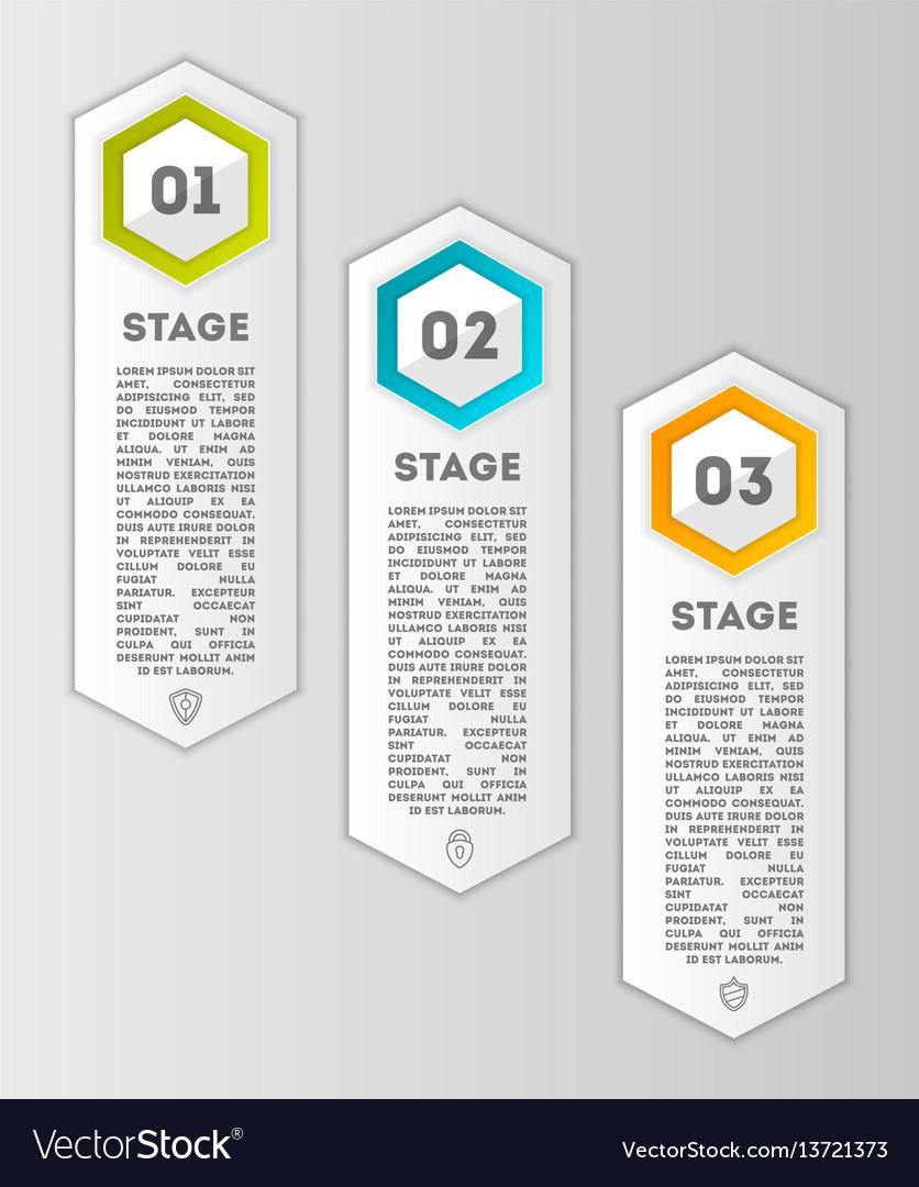 Business infographics modern concept set