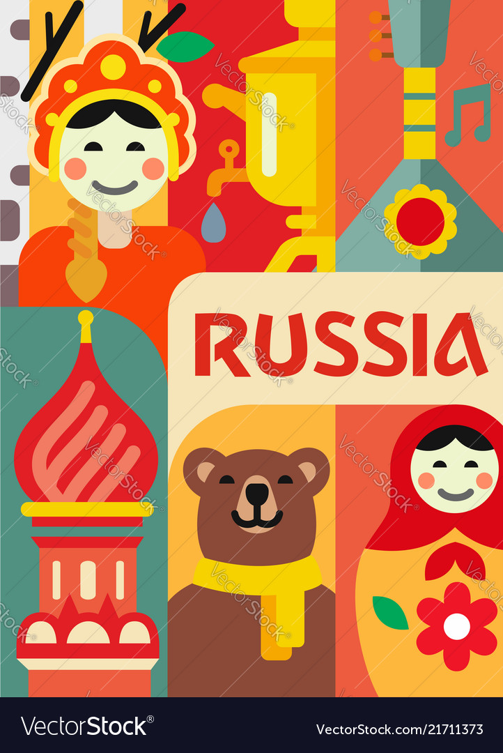Russia culture travel set
