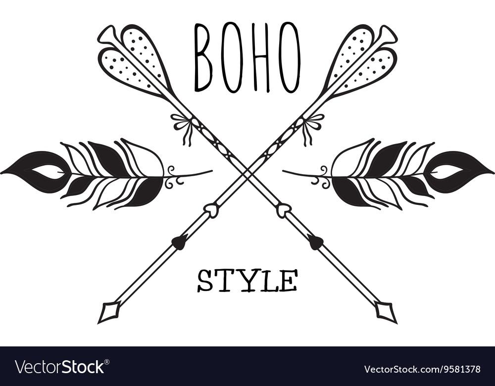 Boho Logo Card