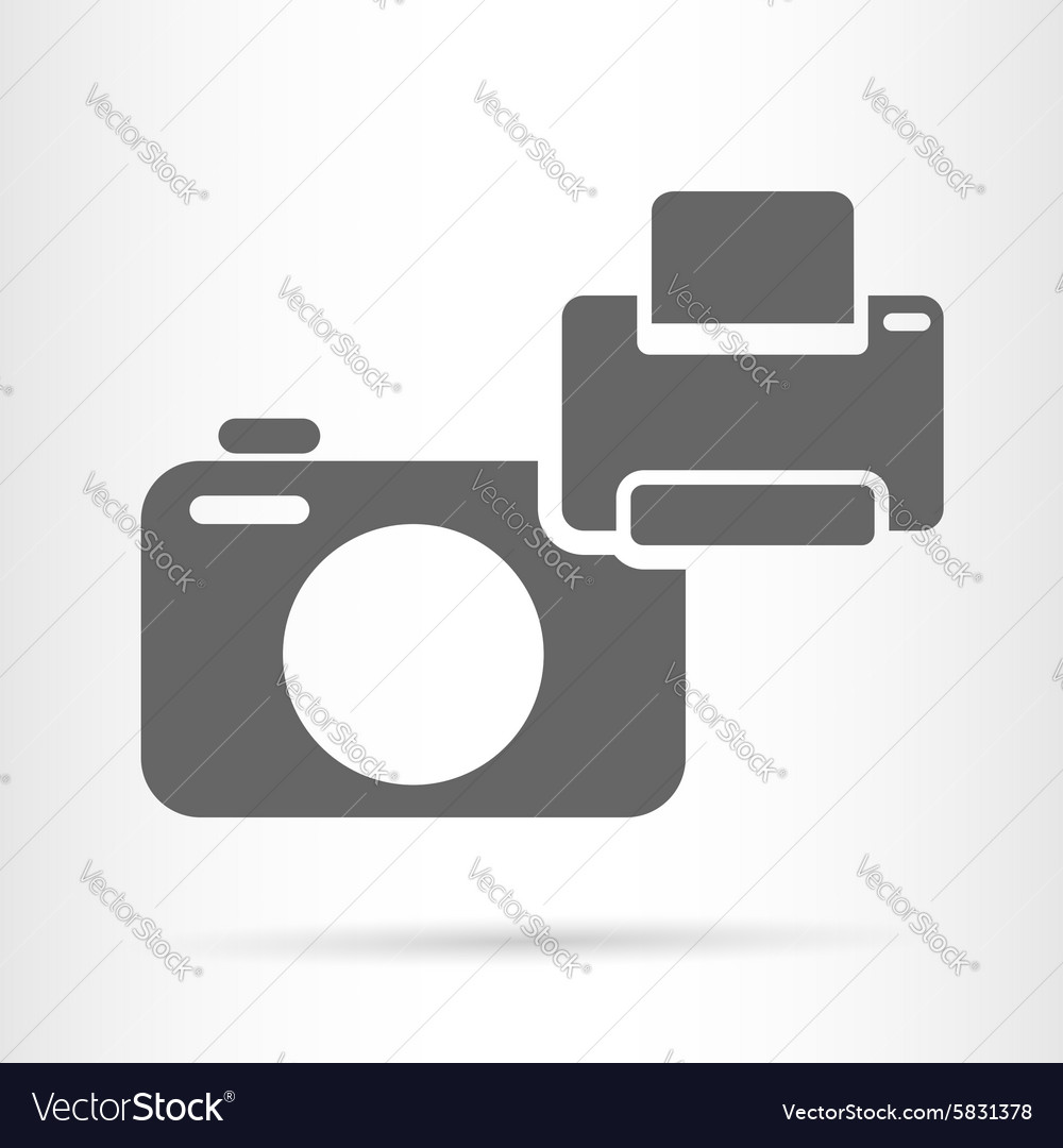 Camera and printer icon