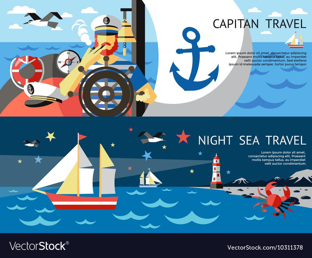 Nautical Concept Banner Set
