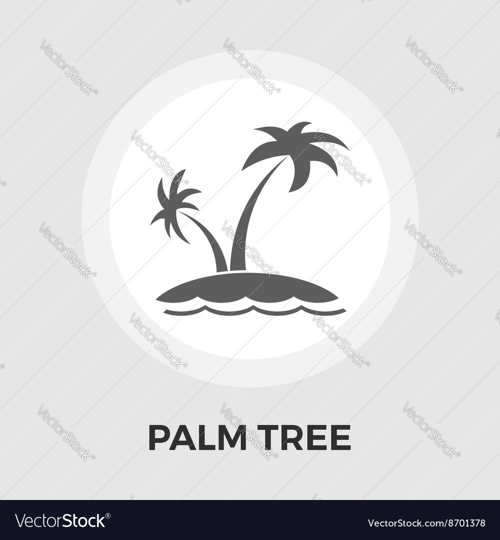 Palm Tree flat icon