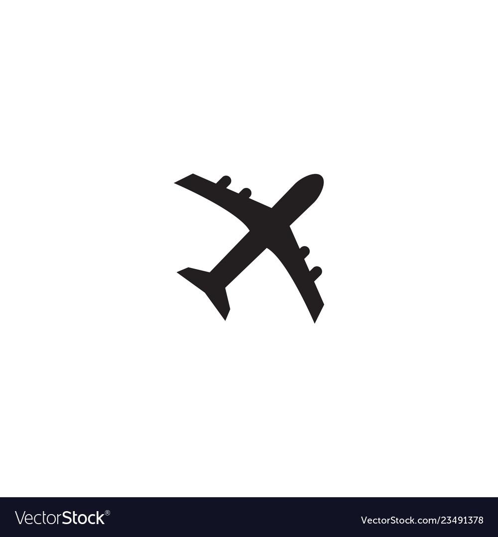 Plane icon graphic design template