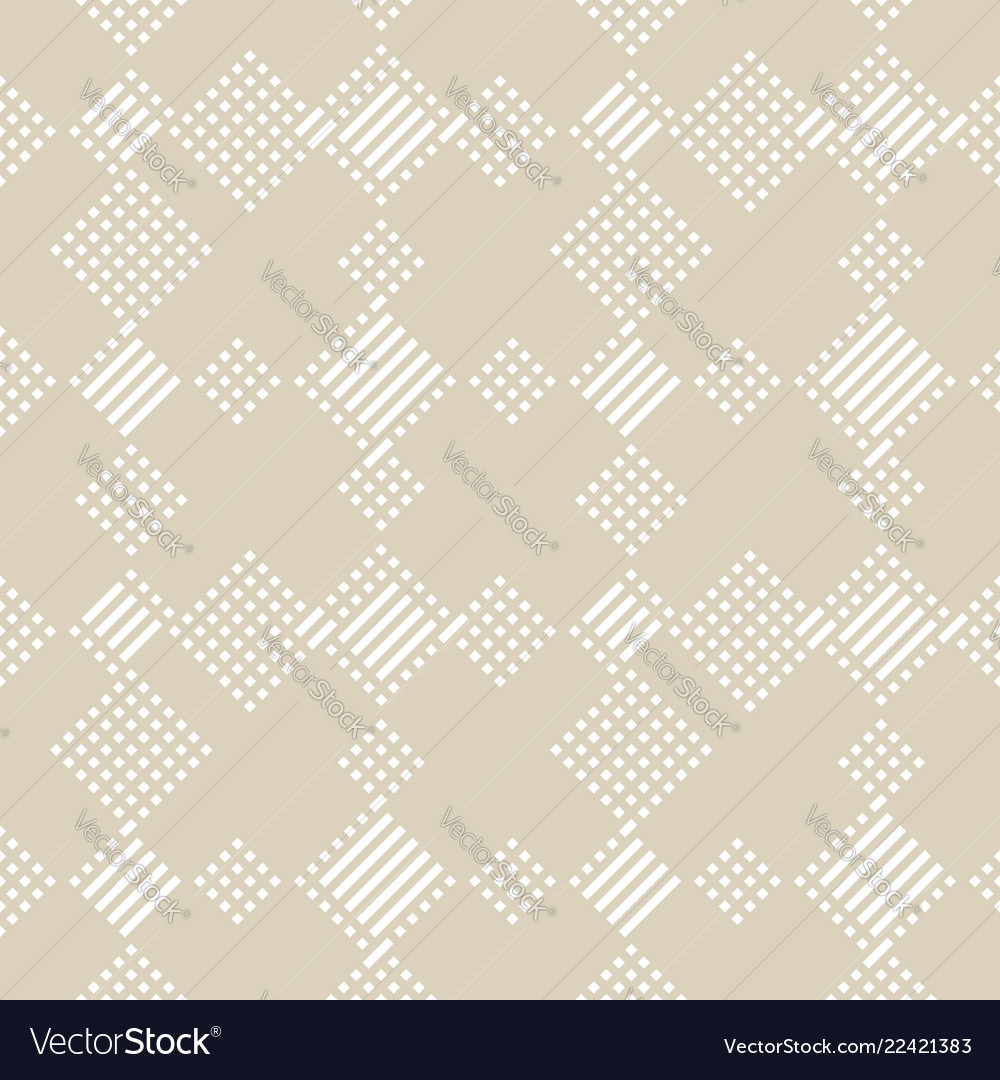 Geometric lines seamless pattern abstract beige