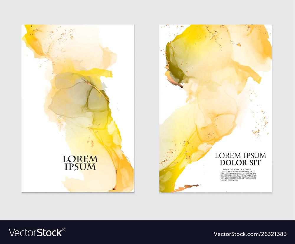 Modern liquid flow artwork marble watercolor