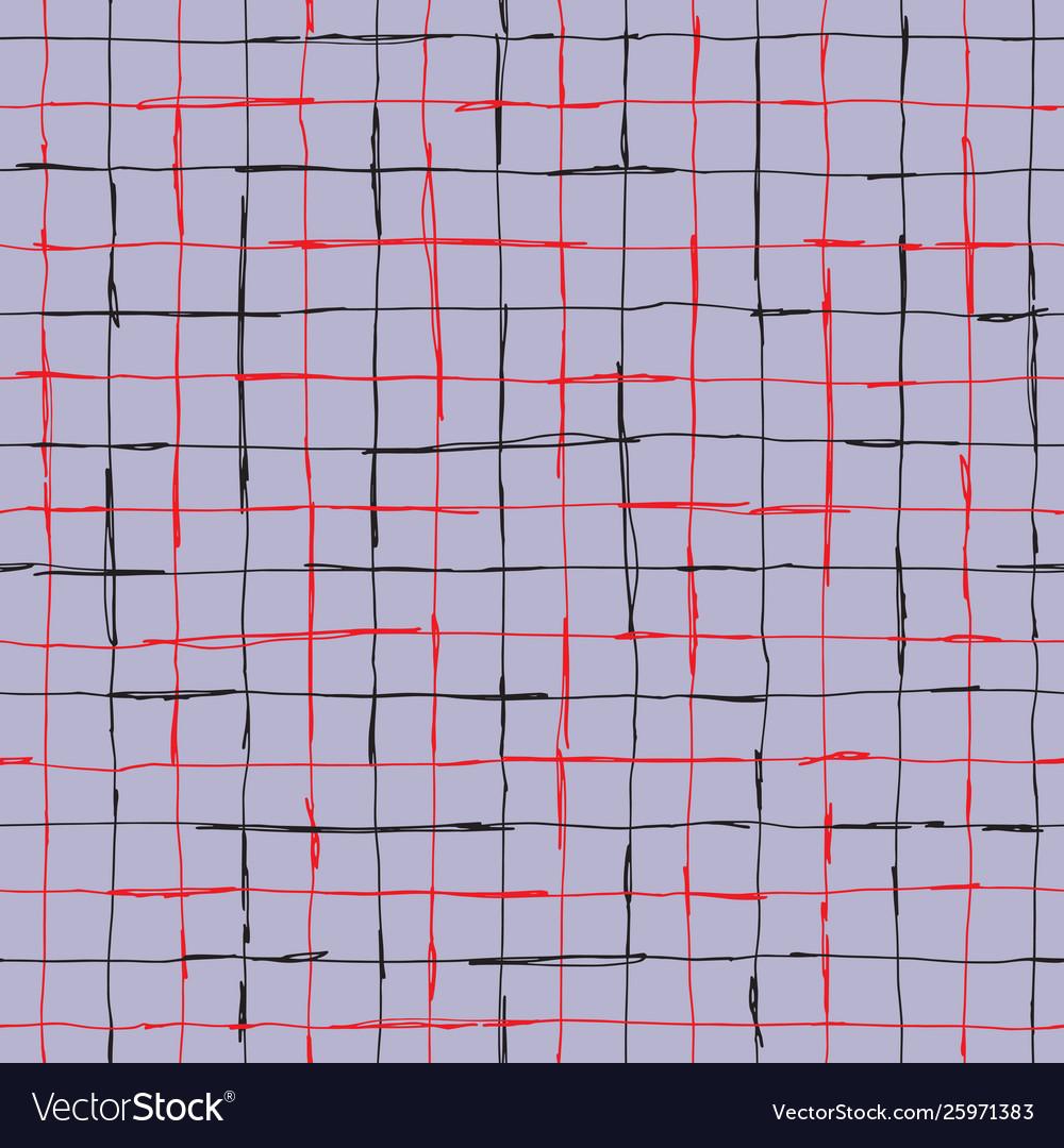 Seamlaess pattern design with artistic hand drawn