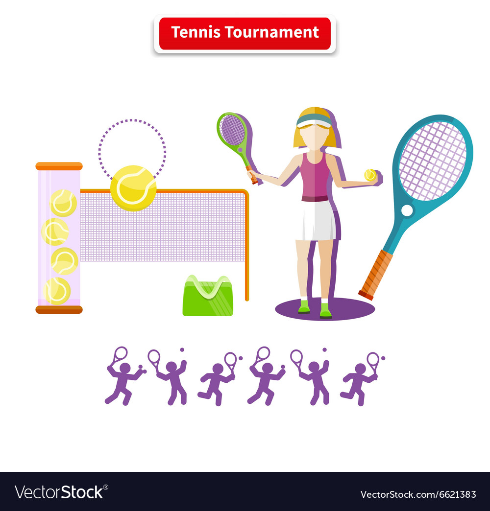 Tennis Tournament Concept
