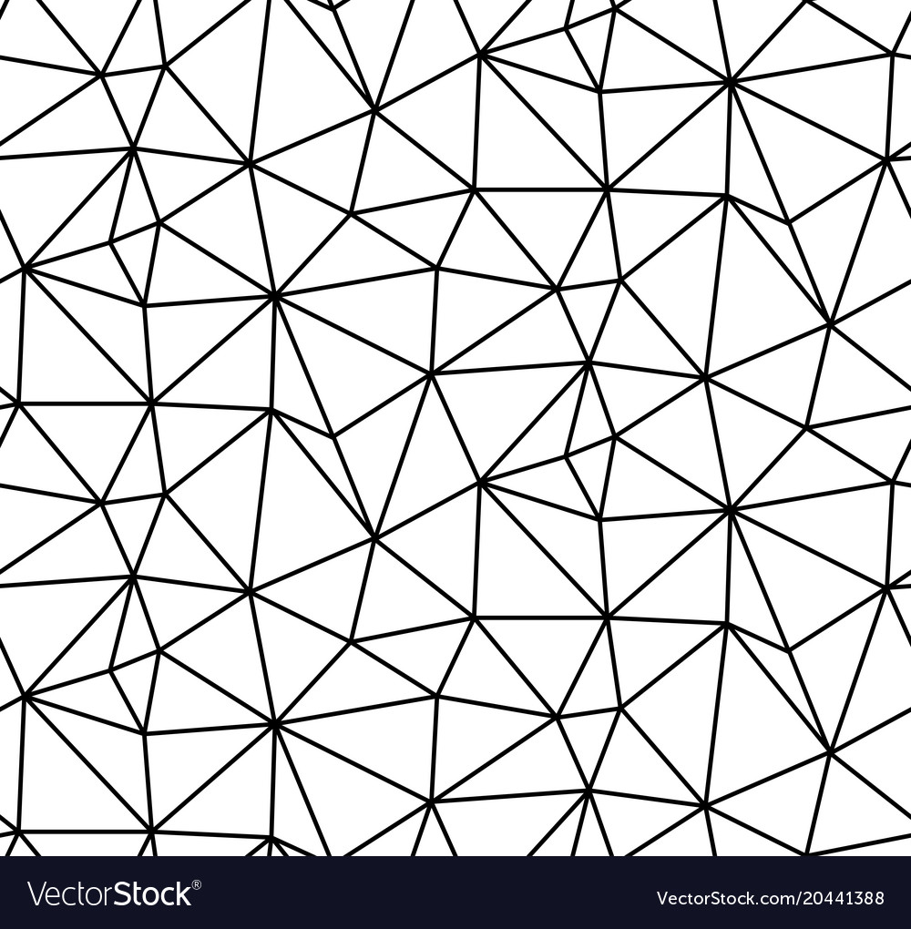 Abstract seamless white background black