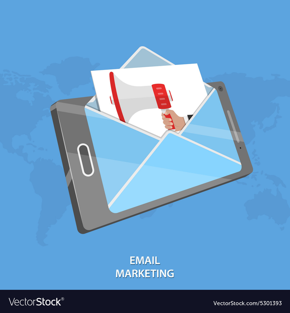 Email marketing conceptual