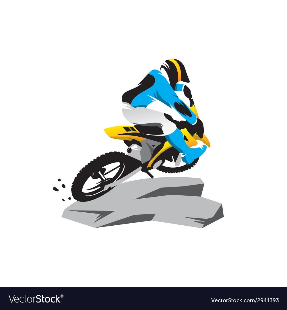 Motocross sign
