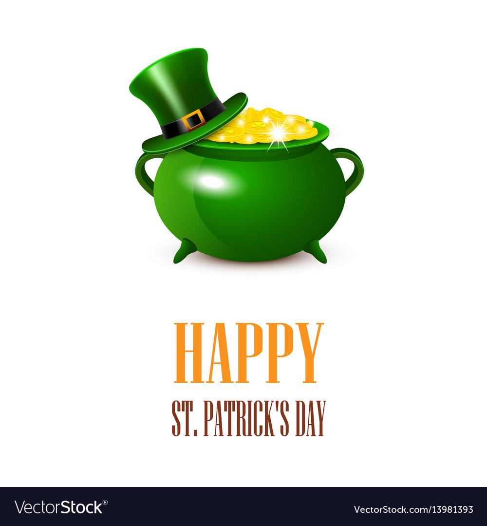 Stpatricks day card