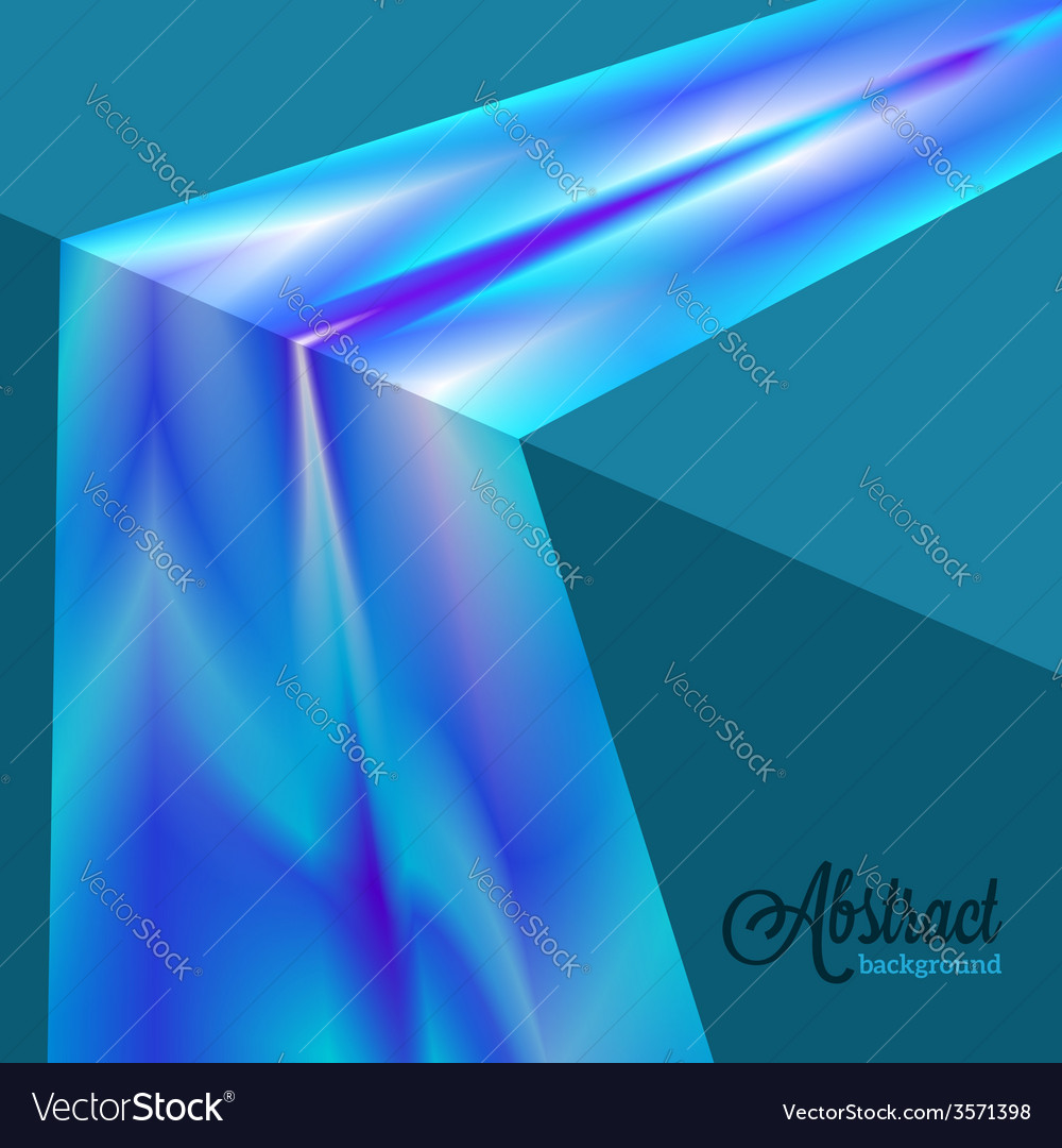 Abstract blurred blue flow background