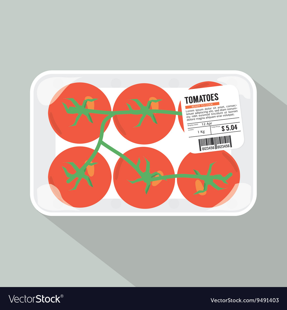 Tomatoes Pack vector image