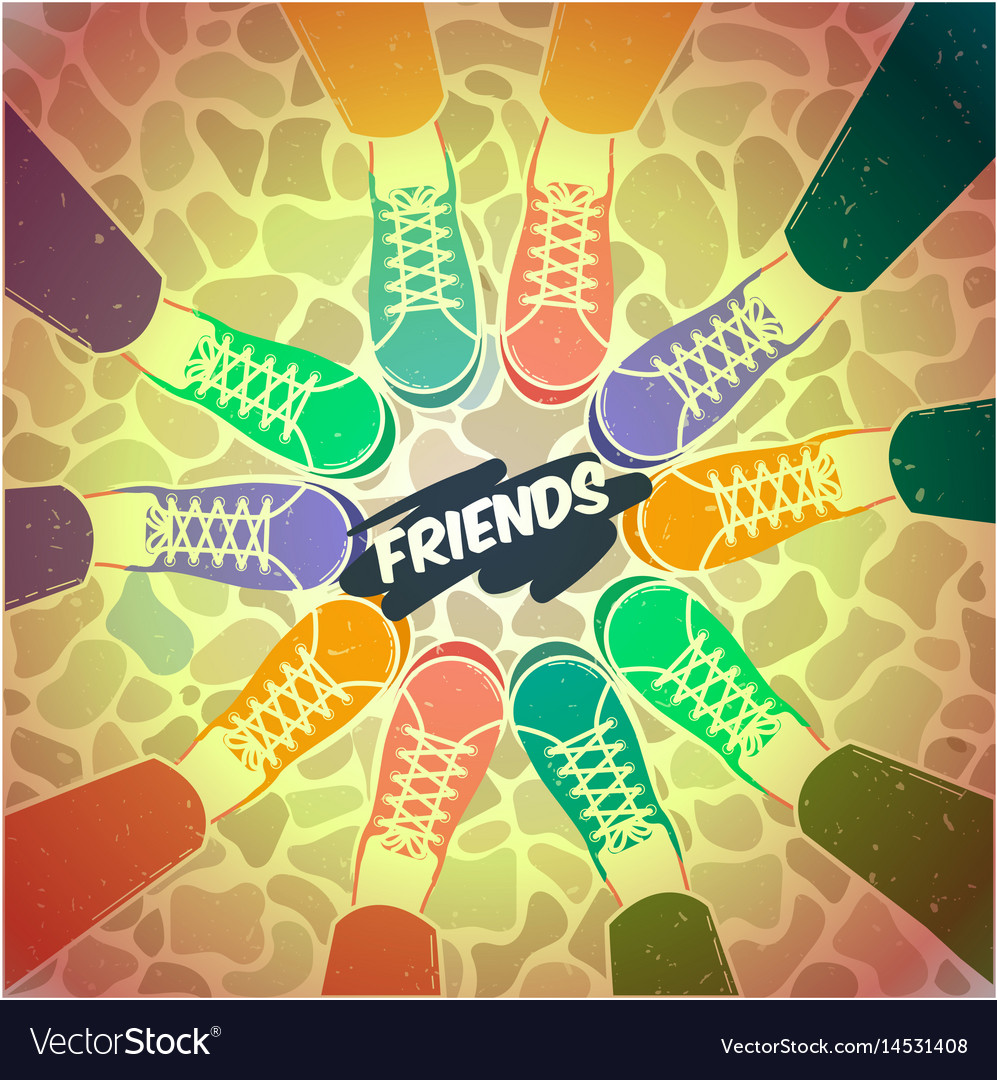 Friendship pairs of shoes
