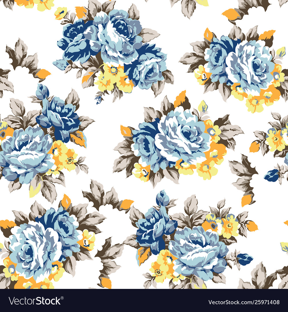 Shabroses vintage seamless pattern vector