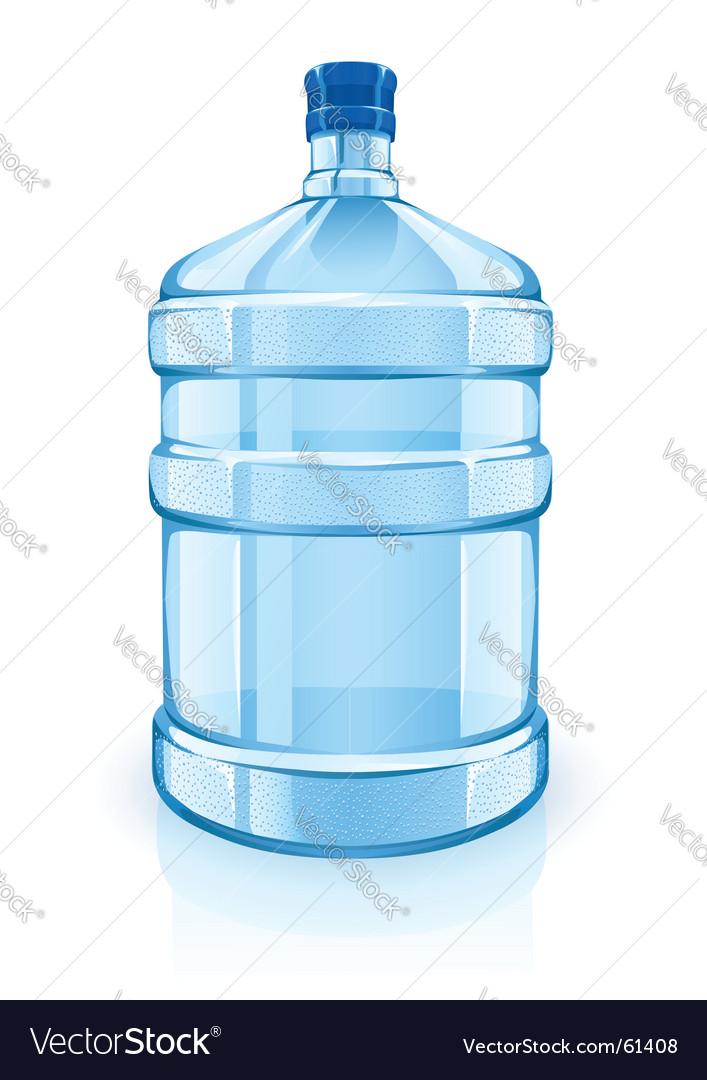 water cooler bottle royalty free vector image vectorstock