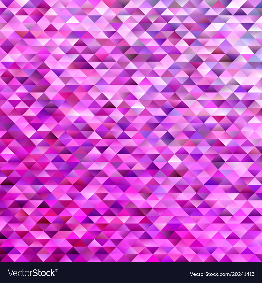 Abstract triangle polygon background - gradient vector image