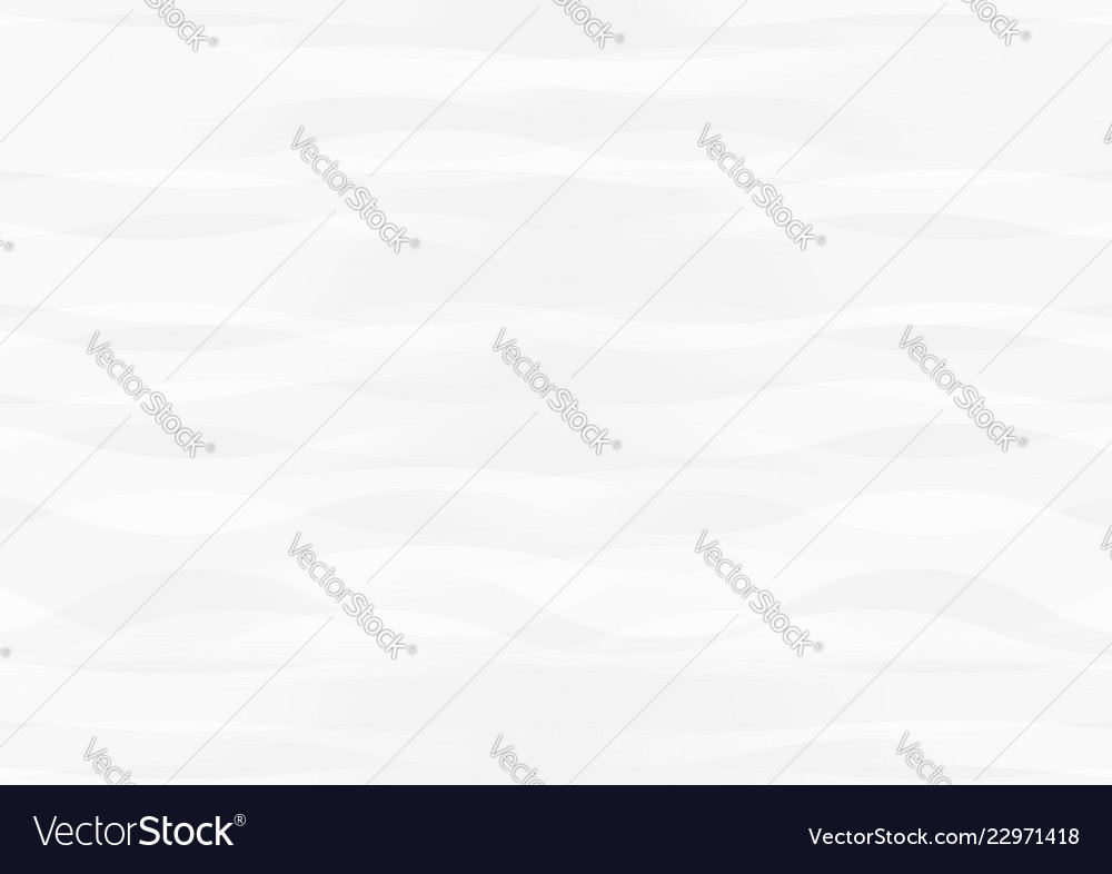 Abstract white waves overlap on gray background