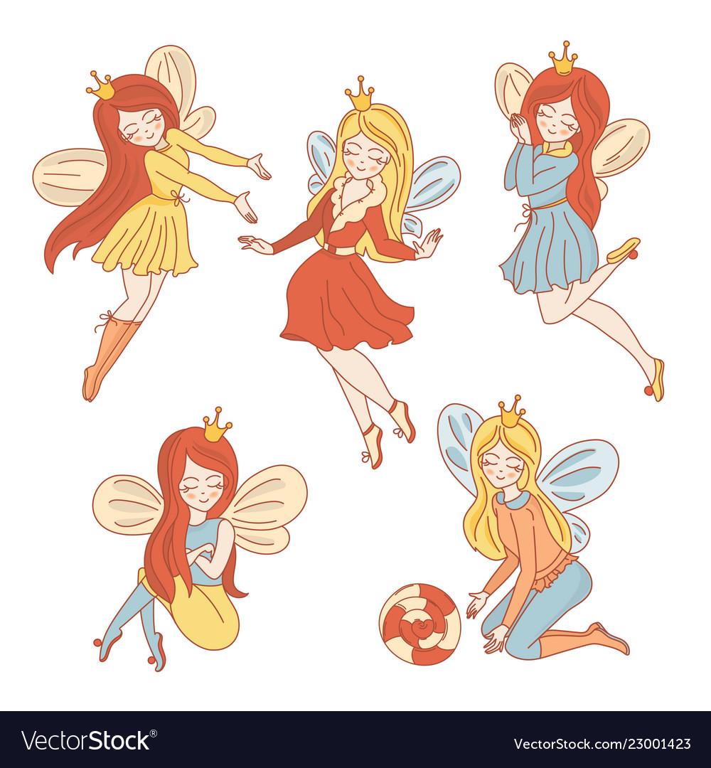 Fairy characters wedding