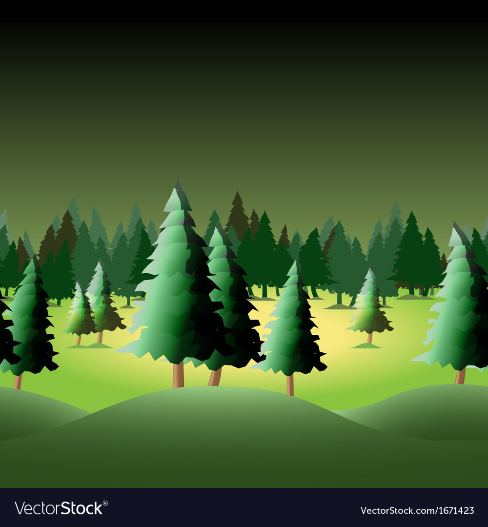 Seamless forest