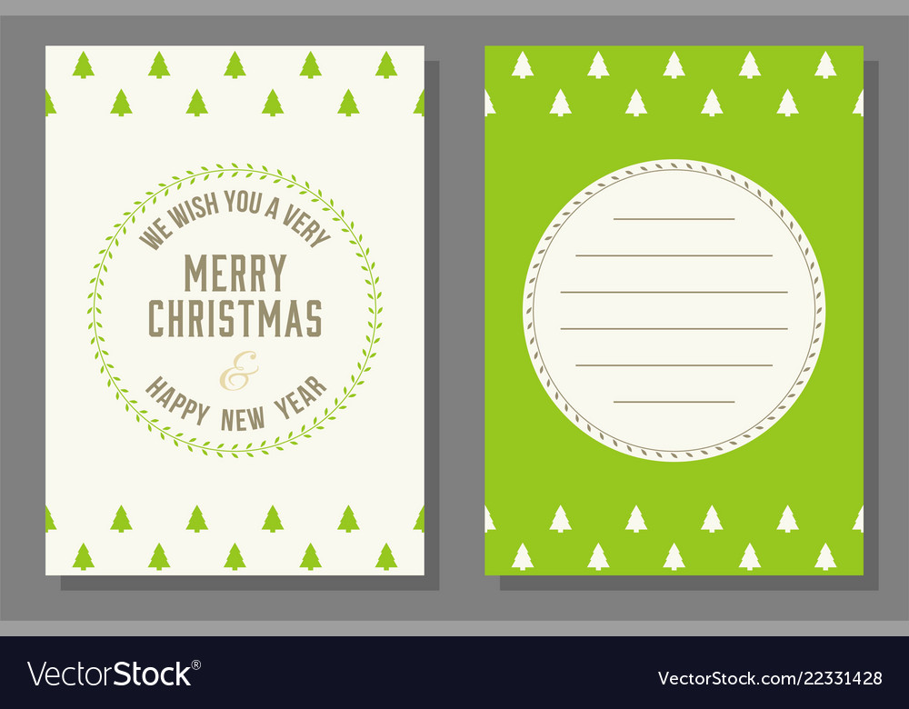 Christmas Theme Poster And Invitation Card