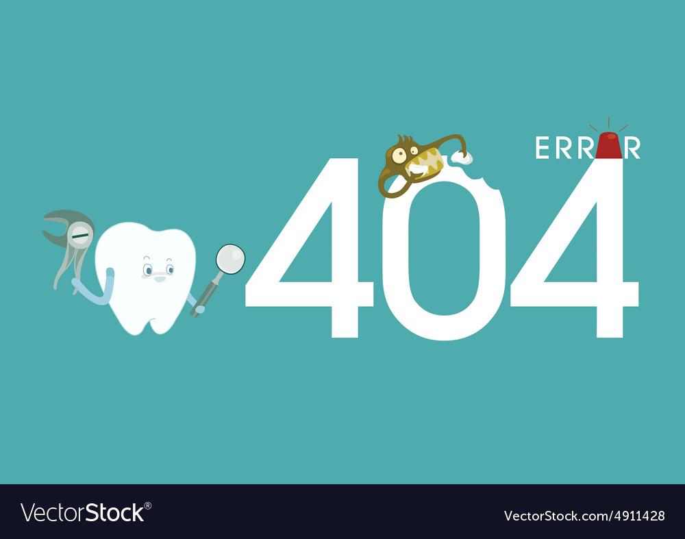 Error of dental