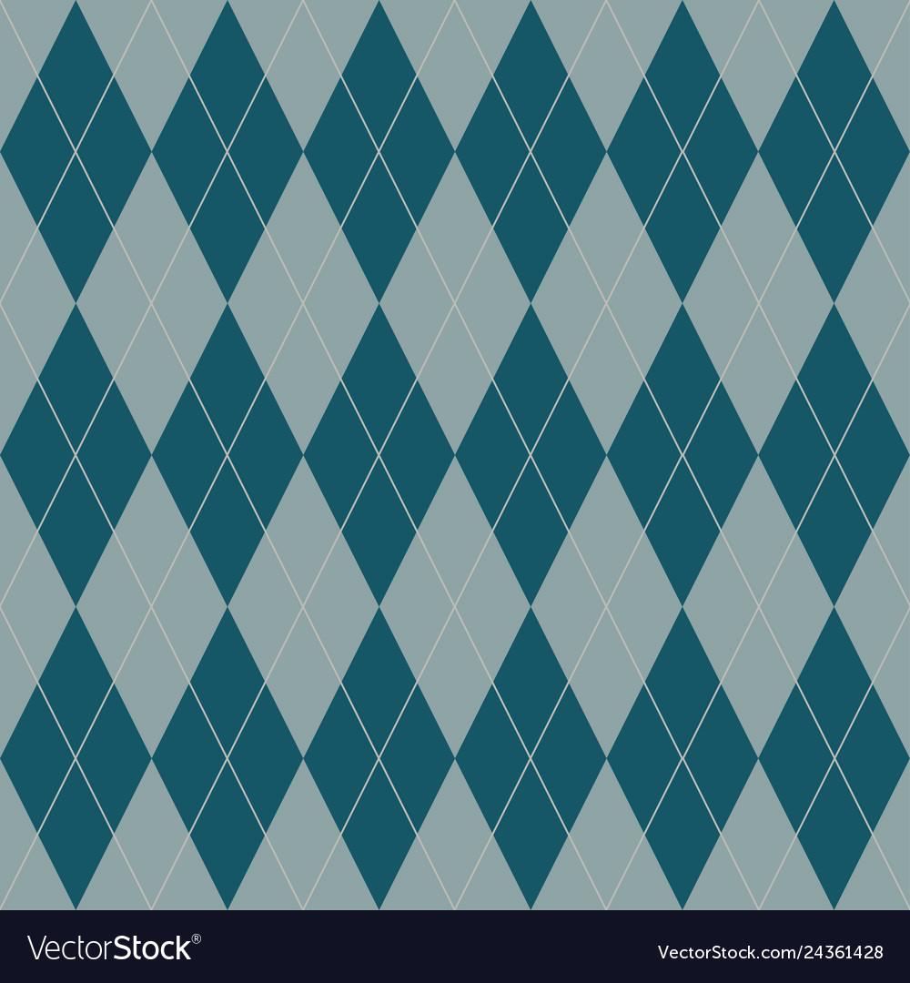 Seamless geometric pattern plaid cell diagonal