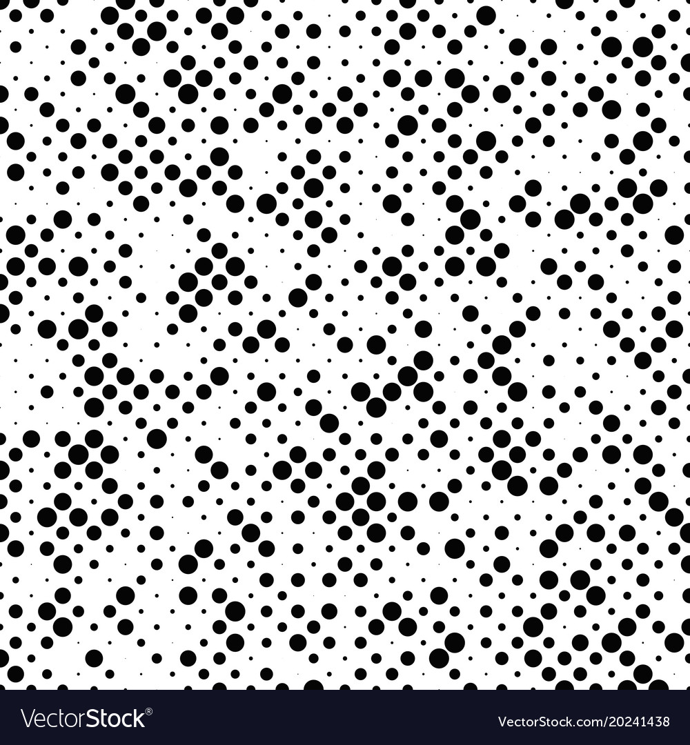 Geometric abstract halftone dot pattern
