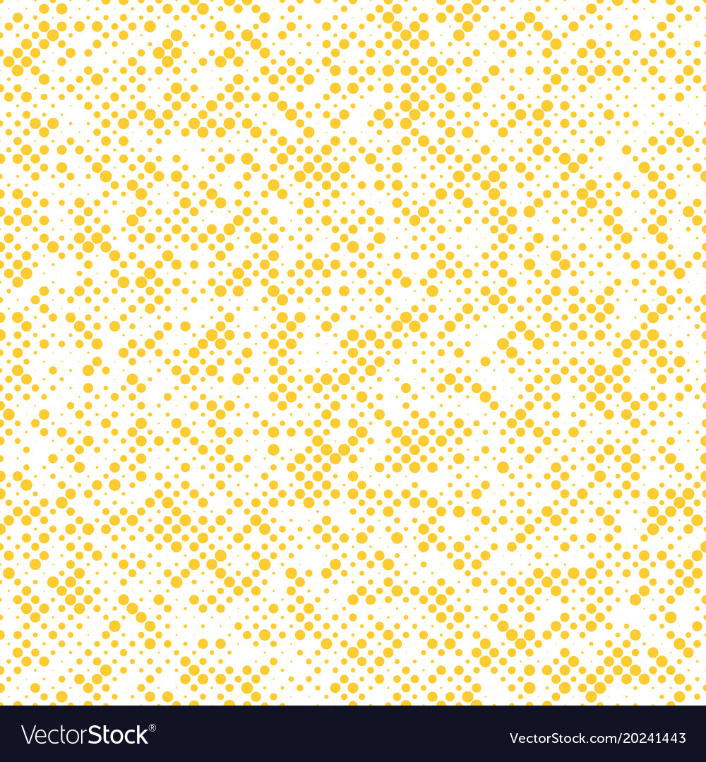 Abstract halftone dotted background pattern design vector image