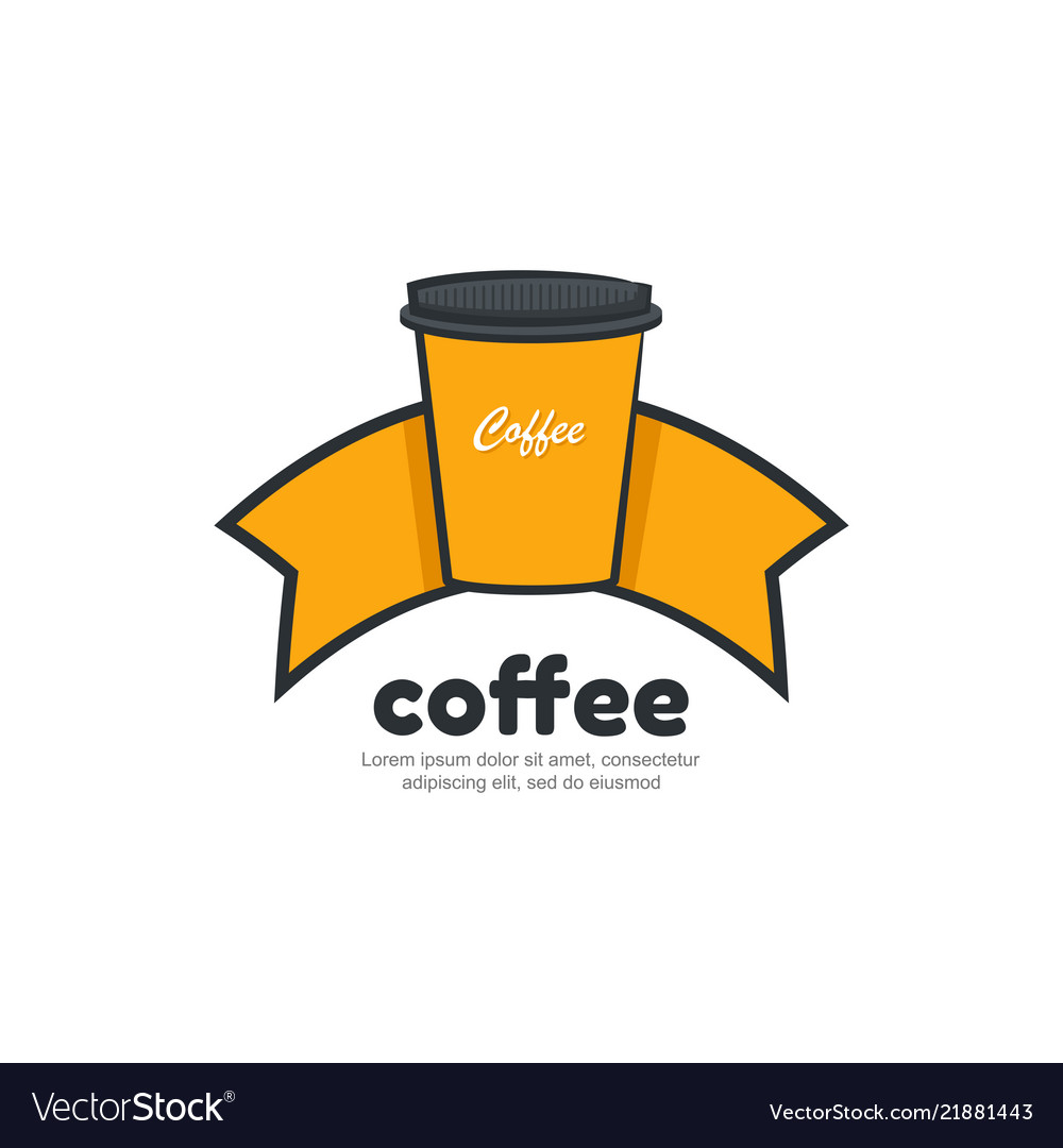 Template logo for coffee shop