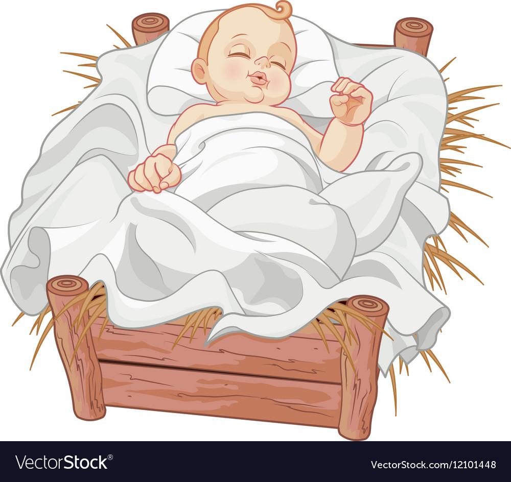 16 nativ baby001 vector image