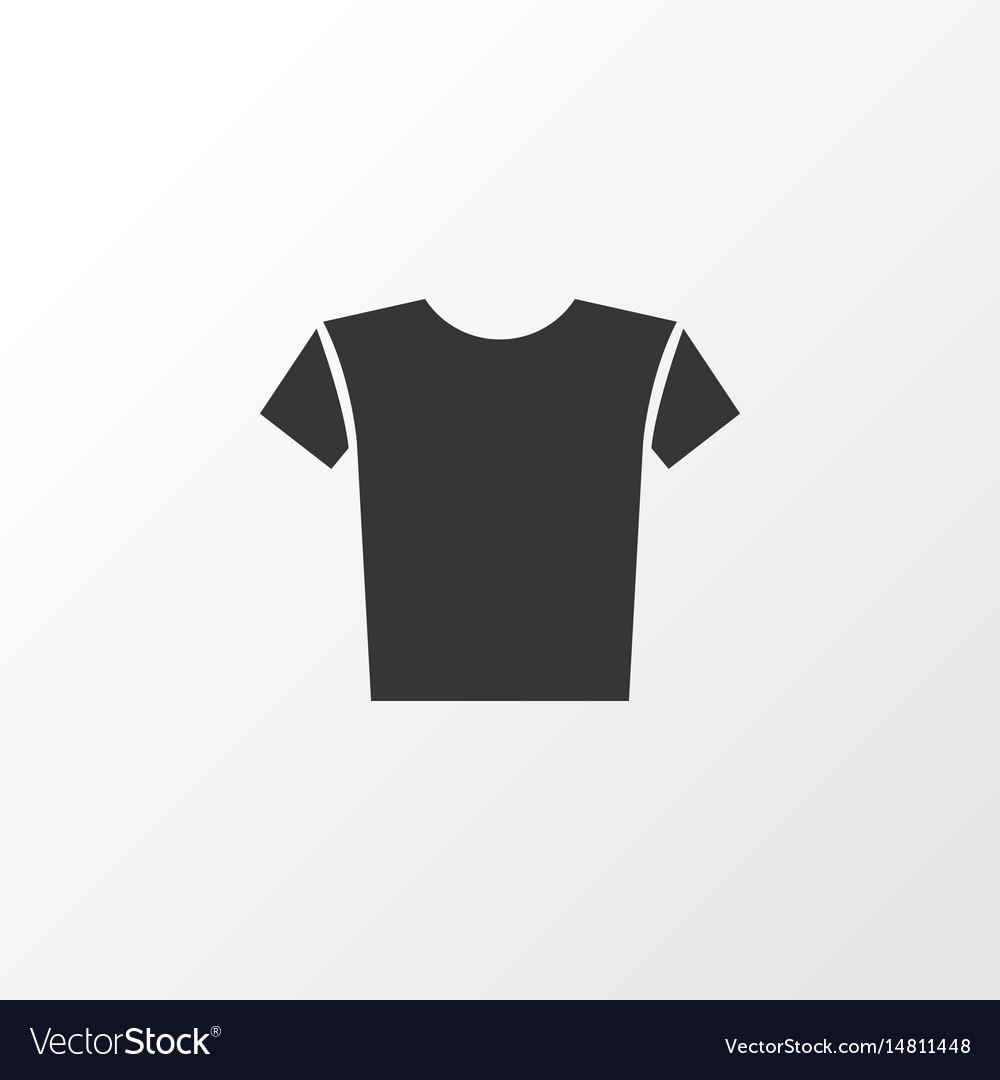 Shirt icon symbol premium quality isolated casual