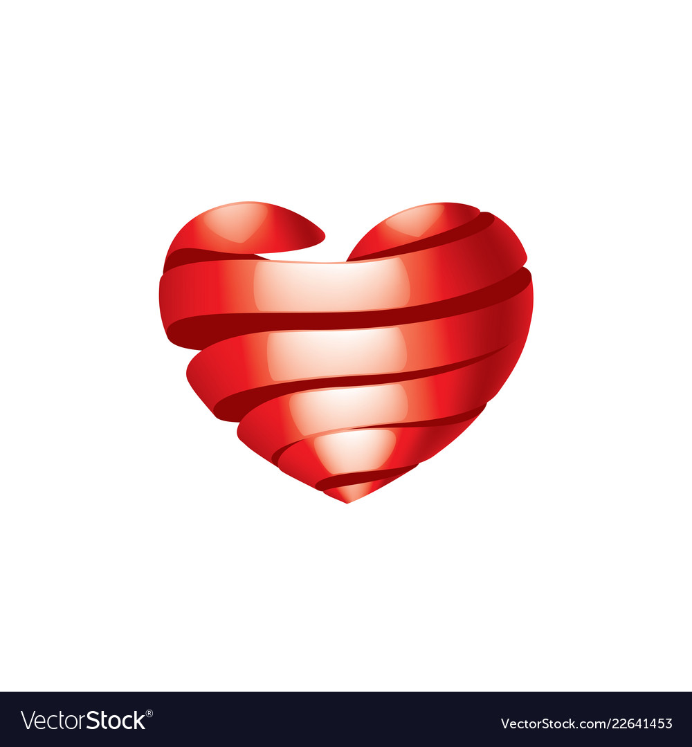 Heart sign for valentine day