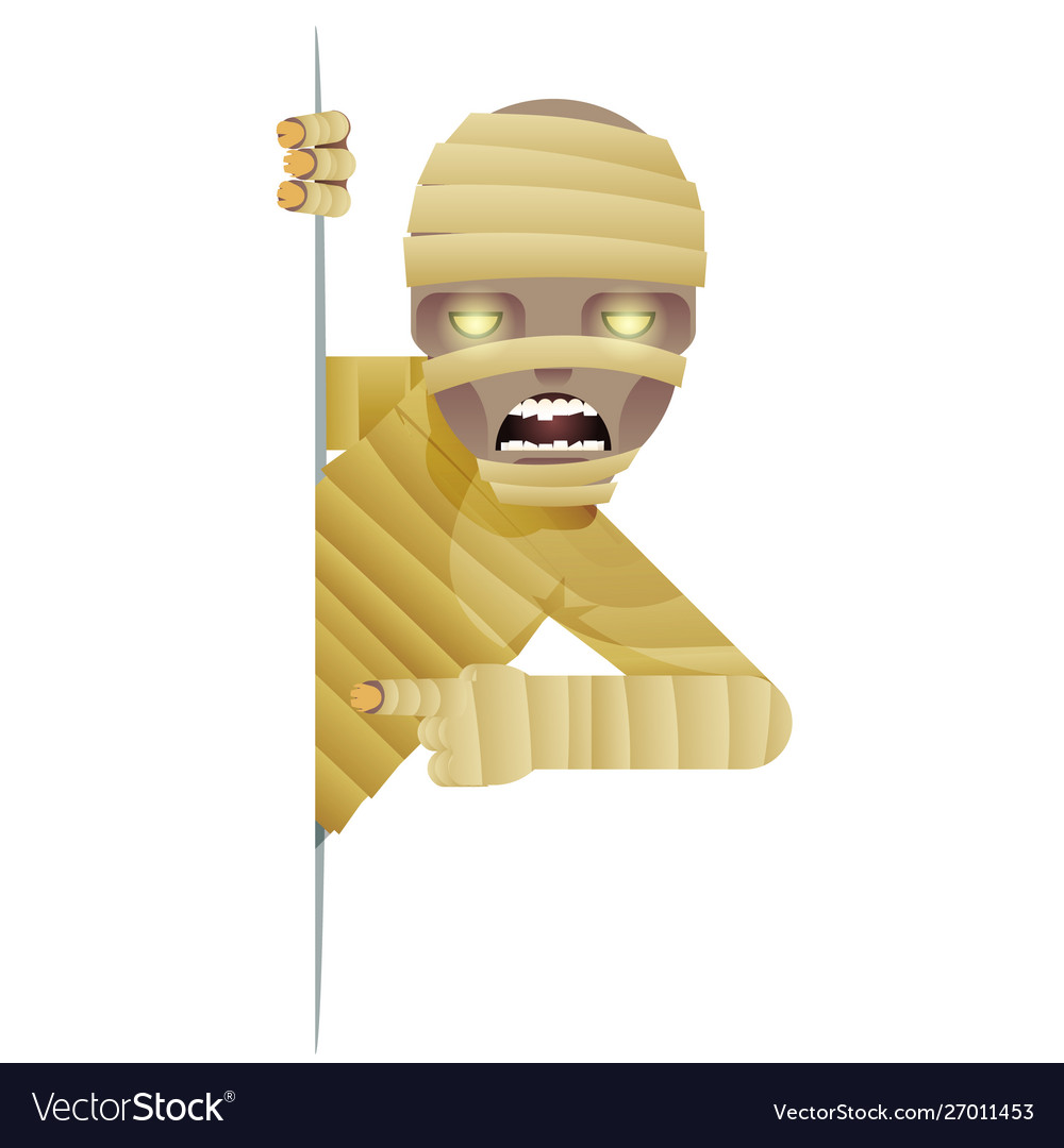 Mummy costume role character halloween party look
