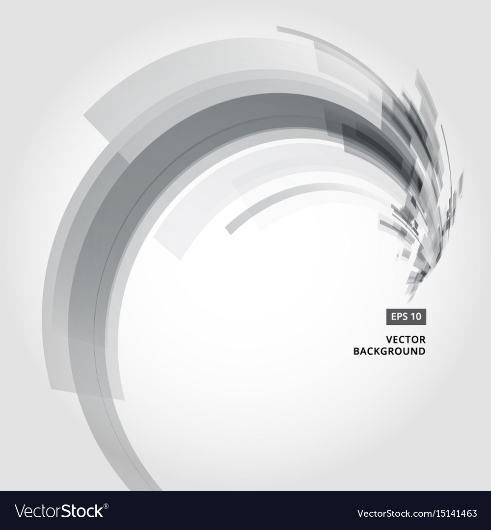Abstract background element in black and gray