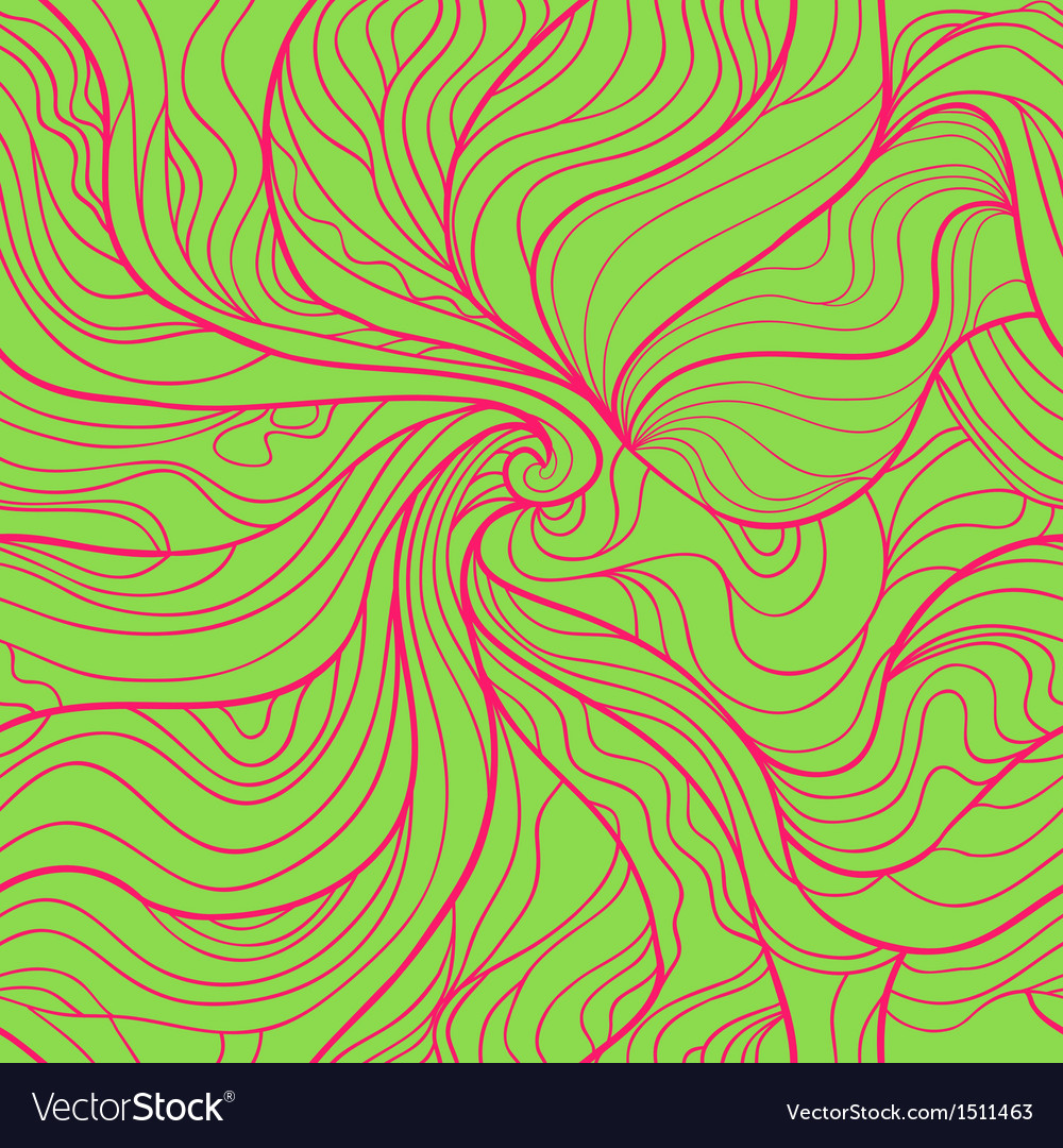 Colorful abstract seamless pattern in bright green