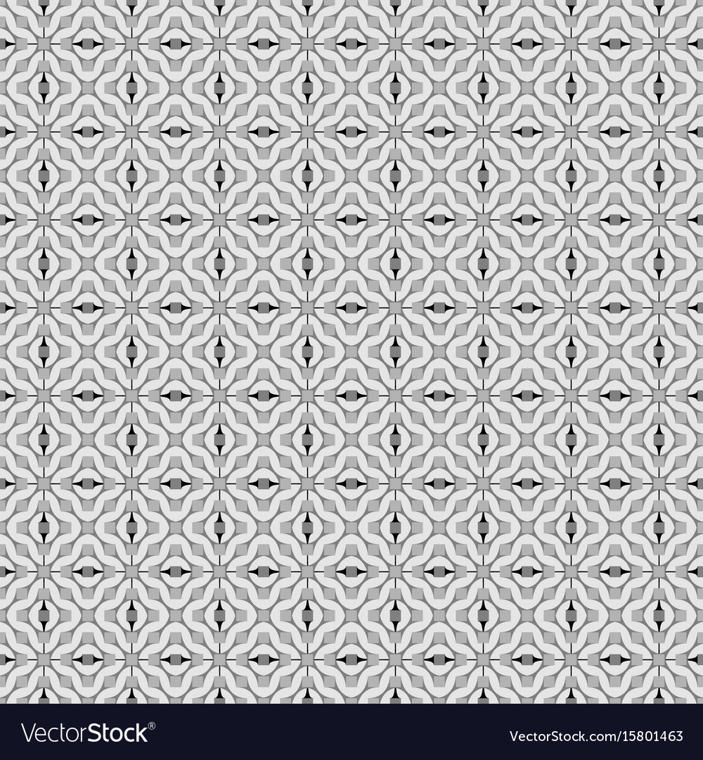 Geometric abstract seamless pattern classic vector image