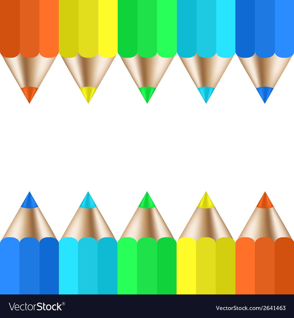 Modern pencil background