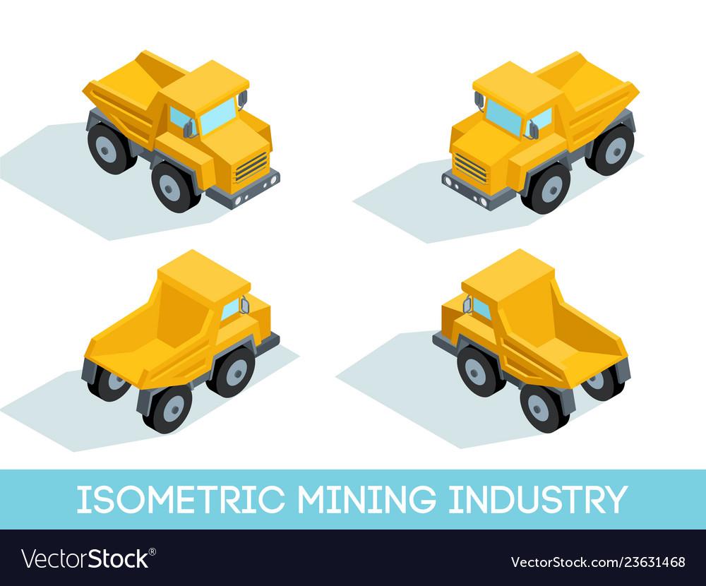Isometric mining industry
