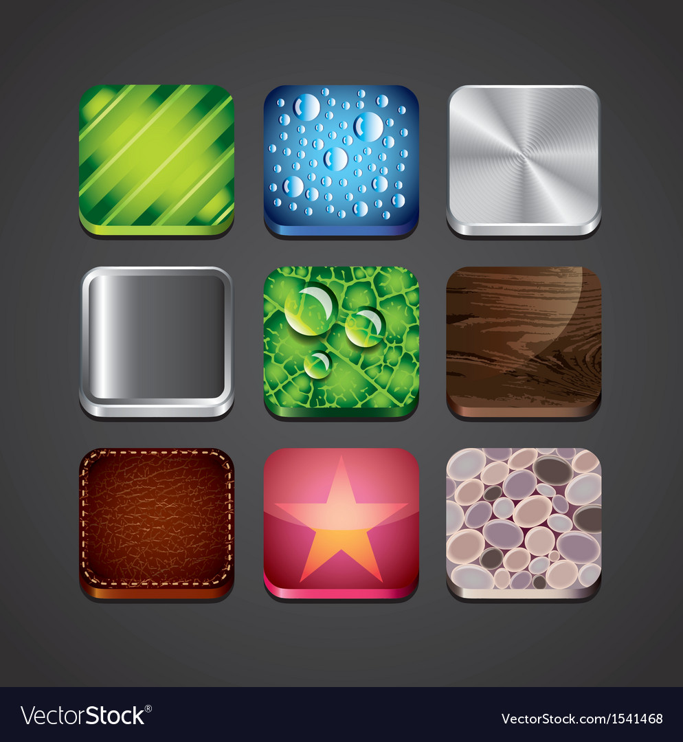 Textures apps set