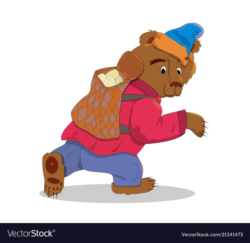 Bear with a box