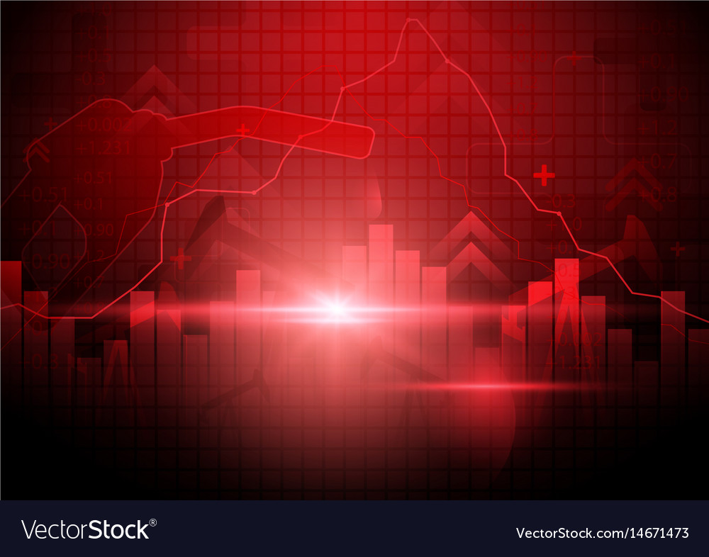 Oil pump nozzle and fuel with energy stock market vector image