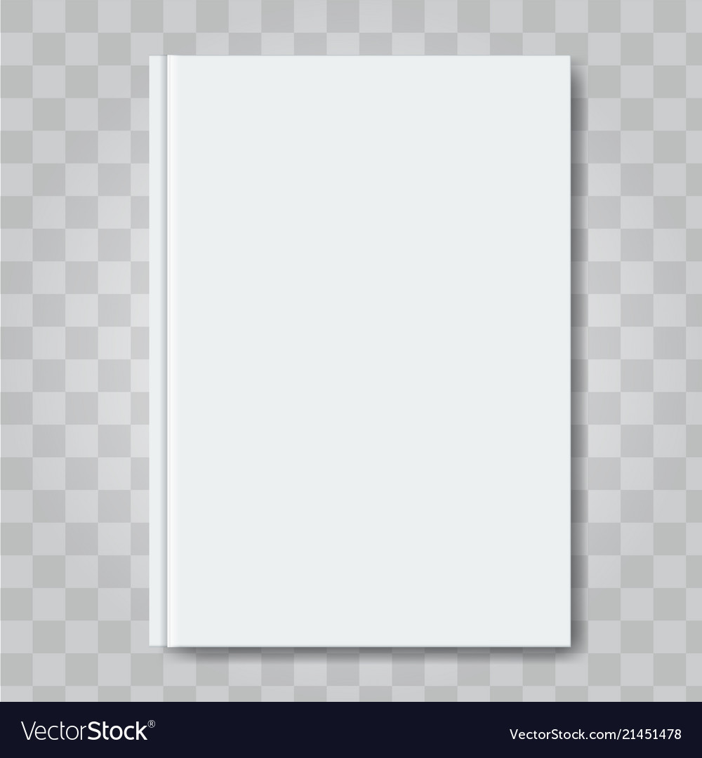 Book Cover Mock Up Ready Template Blank