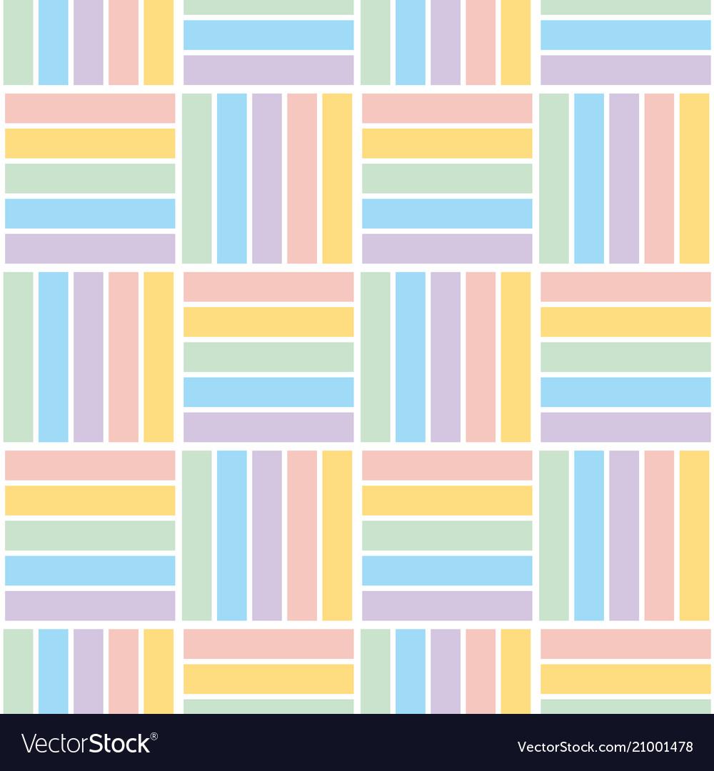 Pale color stripe pattern seamless pattern