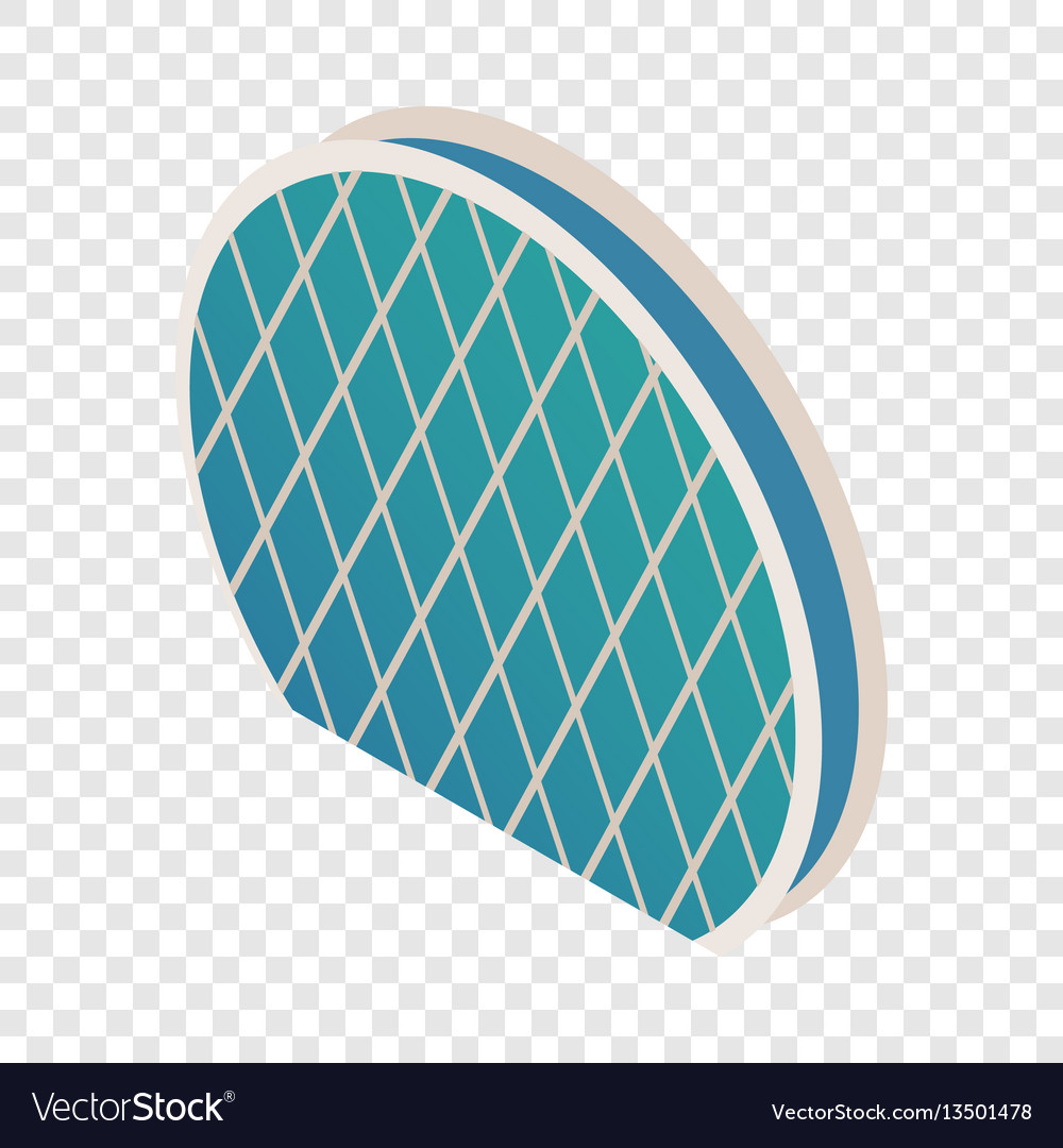 Skyscraper aldar hq isometric icon vector image