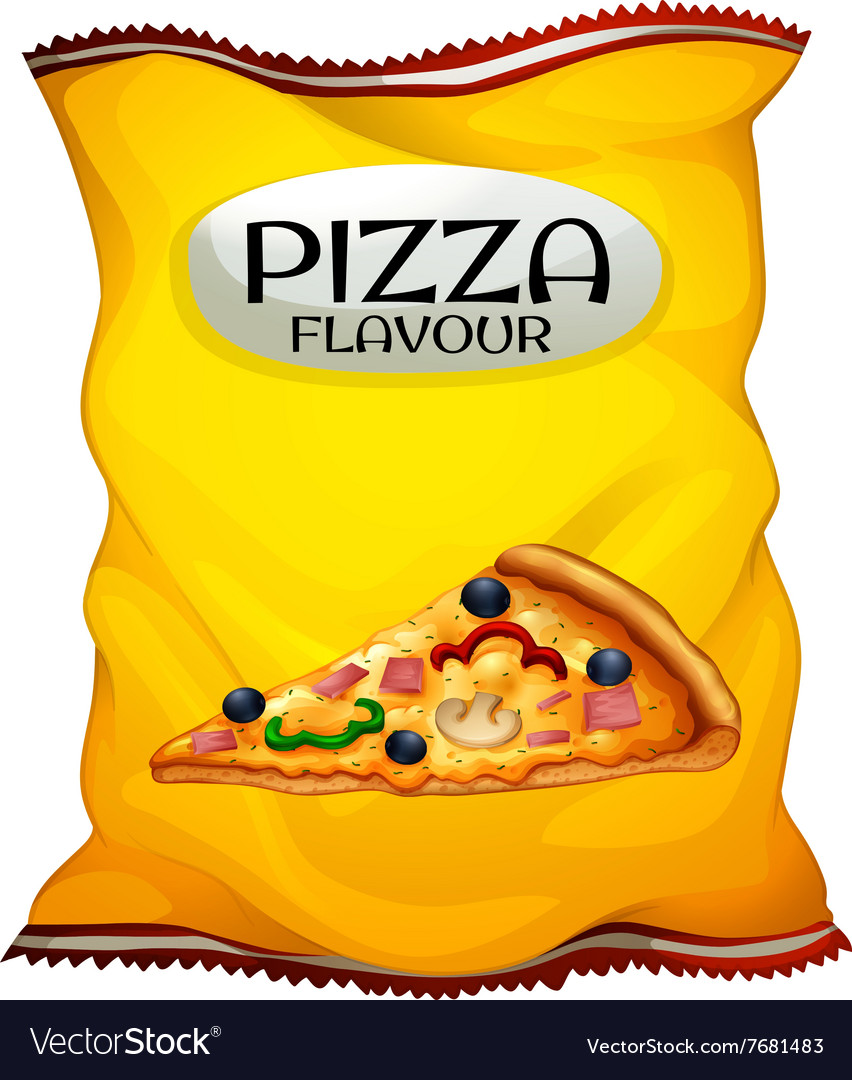 Bag Of Chips Pizza Flavour