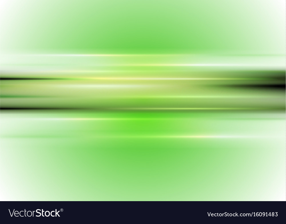 Bright green glowing stripes abstract background