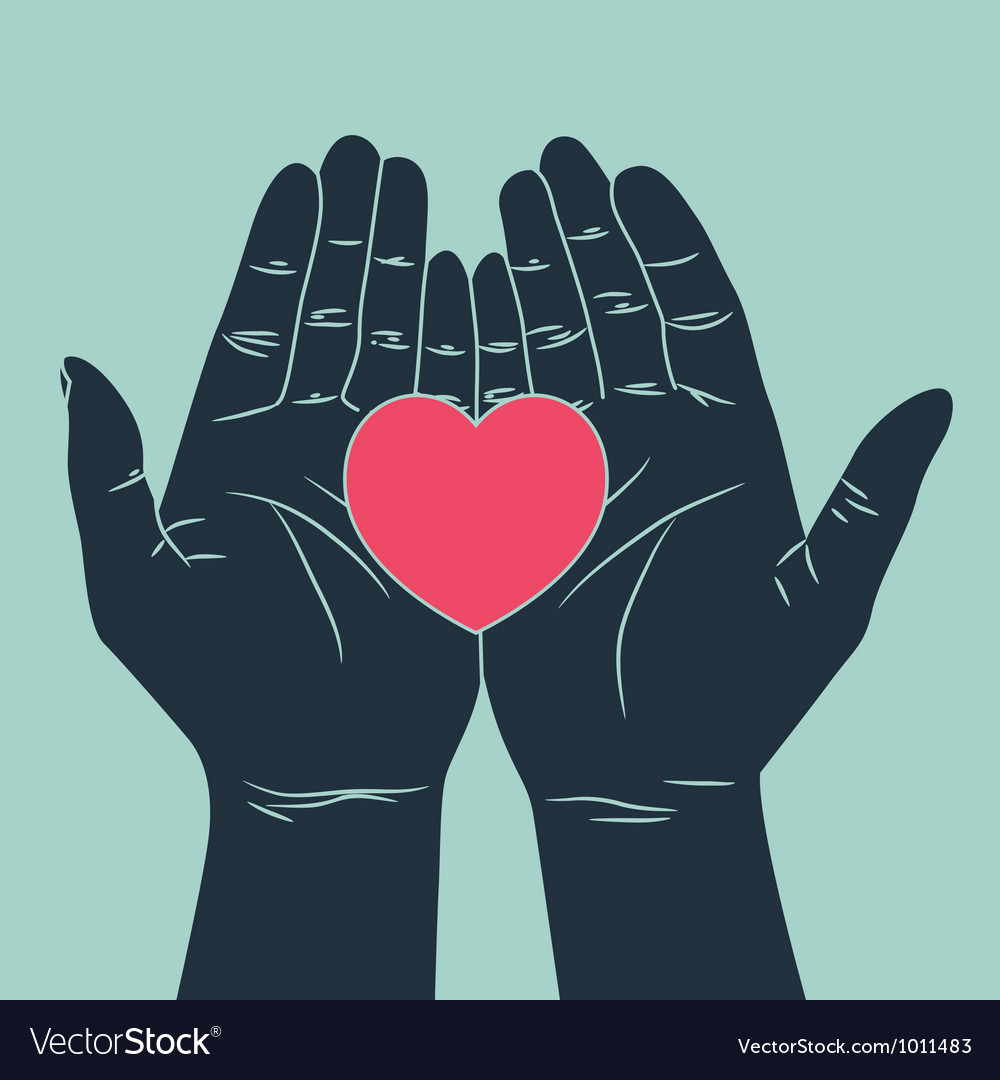 Hand with love