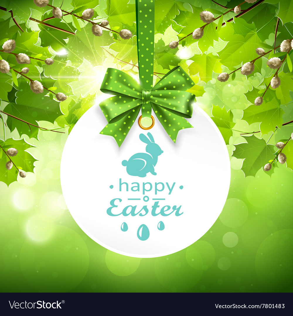 Holiday Banner On Natural Background Royalty Free Vector