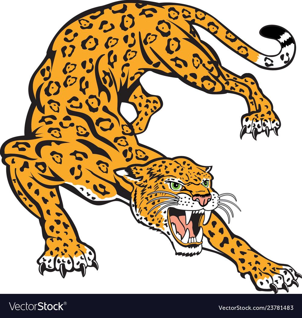 Jaguar logo mascot